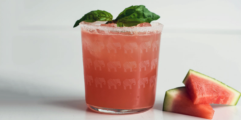 Watermelon & Basil Margarita